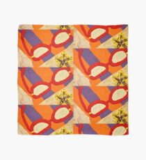 Beach Towel with Glasses, Seashell, and Starfish Scarf