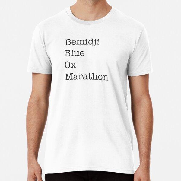 bemidji blue ox marathon Premium T-Shirt