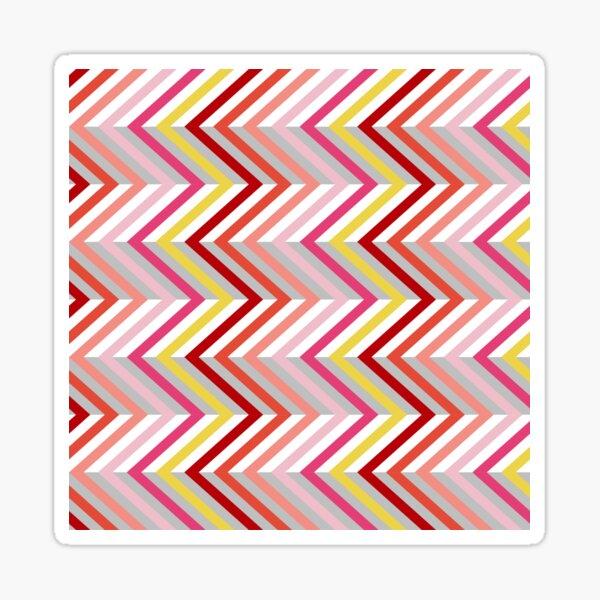 Zigzag Pattern Sticker