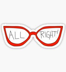 "Linda Belcher ""All Right!"" Sticker"