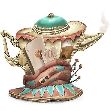Tea hat from M. Hatter by OmriKoresh