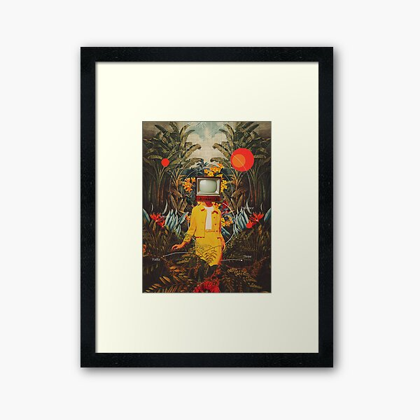 She Came from the Wilderness Framed Art Print