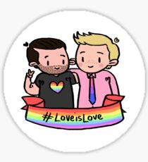 #LoveisLove - Stickers Sticker