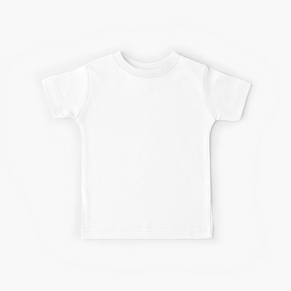 Amerikanischer Ninja-Krieger - Weiß Kinder T-Shirt