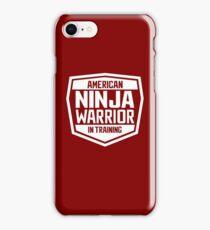 American Ninja Warrior - White iPhone Case/Skin
