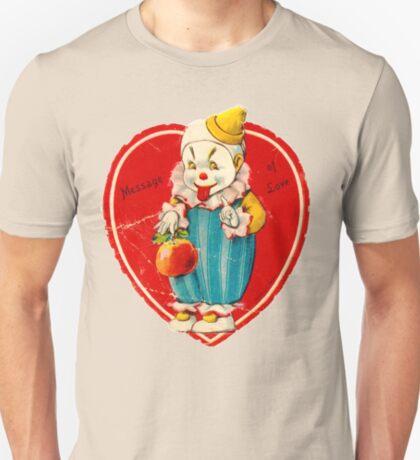 Vintage Valentine evil clown T-Shirt