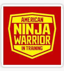 American Ninja Warrior - Yellow Sticker