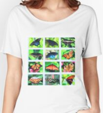 Dynamic Butterflies Women's Relaxed Fit T-Shirt