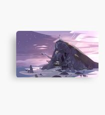 Steven Universe Night Temple Canvas Print