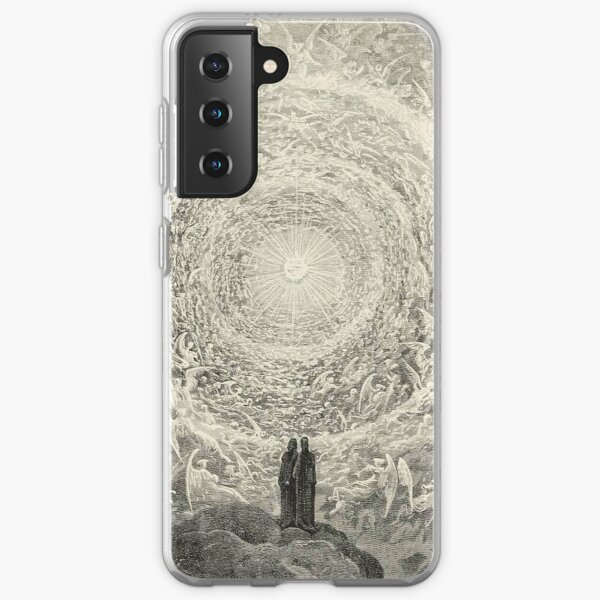 ANGELS AND DEMONS. Dante, Heaven, Heavenly, The Divine Comedy, Gustave Dore, Highest, Heaven. Samsung Galaxy Soft Case