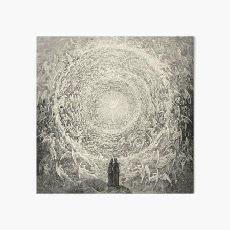 ANGELS AND DEMONS. Dante, Heaven, Heavenly, The Divine Comedy, Gustave Dore, Highest, Heaven. Art Board Print