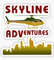 Skyline Helicopter Adventures Sticker