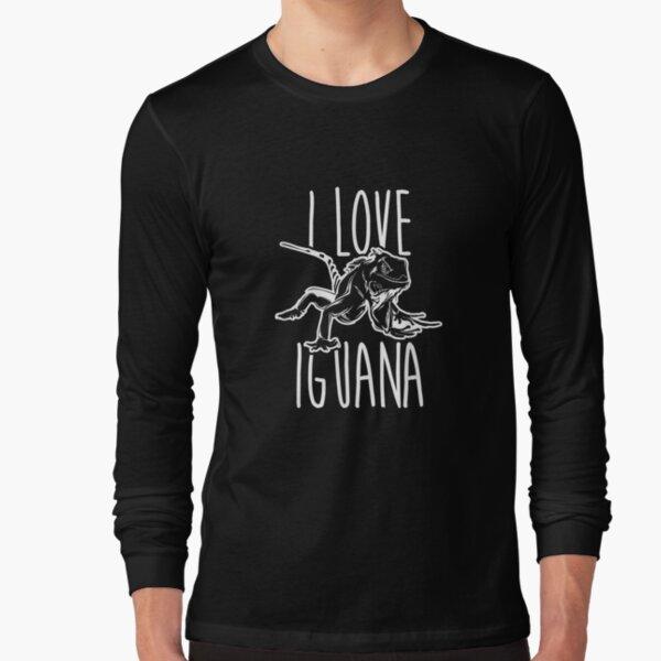 I Love Reptiles Iguana Lover  Long Sleeve T-Shirt