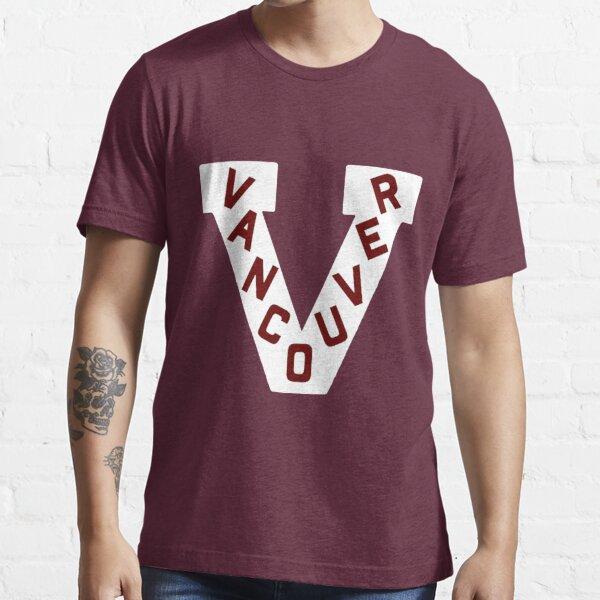Vancouver Millionaires 1913-14 Defunct Hockey Team Essential T-Shirt
