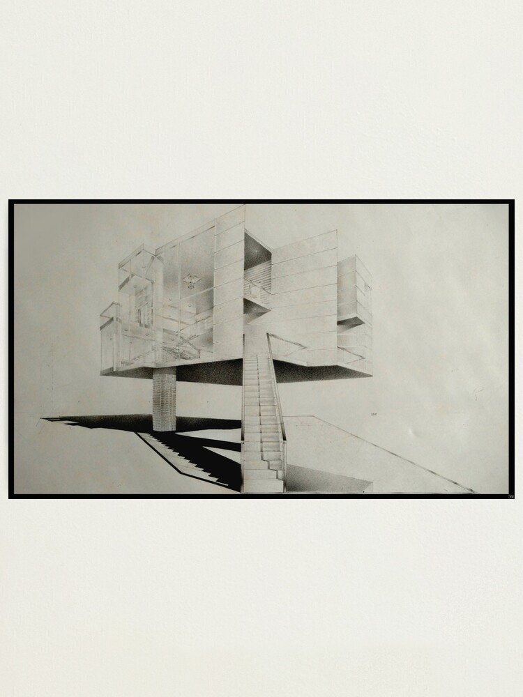Alternate view of Wedge House  Photographic Print