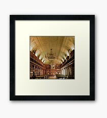 The library at Pinacoteca di Brera Framed Print