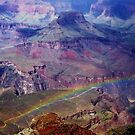 Arizona, Grand Canyon's rainbow by loiteke