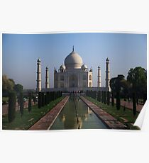 The Taj Mahal, Iconic View. Poster