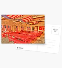 Dining Hall and Photographer Postcards
