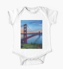 Golden Gate Bridge One Piece - Short Sleeve