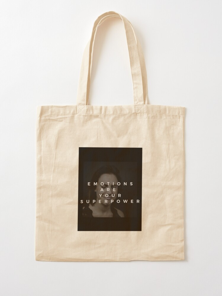 Alternate view of Emotions Are Your Superpower Tote Bag