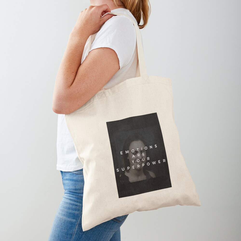 Emotions Are Your Superpower Tote Bag