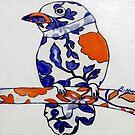 """Tangerine Bird by Belinda """"BillyLee"""" NYE (Printmaker)"""