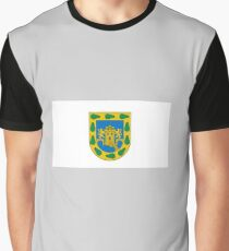 Flag of Mexico City  Graphic T-Shirt