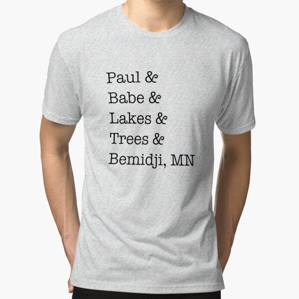 Paul & Babe Tri-blend T-Shirt