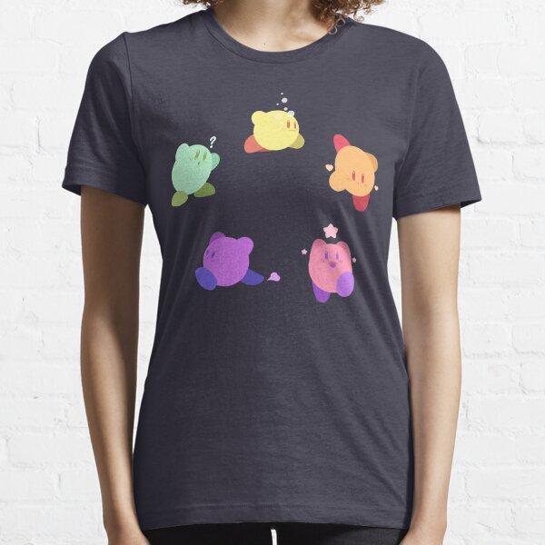 Rainbow Kirbys Camiseta esencial