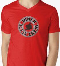 Inner West Elite Crest Men's V-Neck T-Shirt