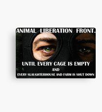 Animal Liberation Front Canvas Print