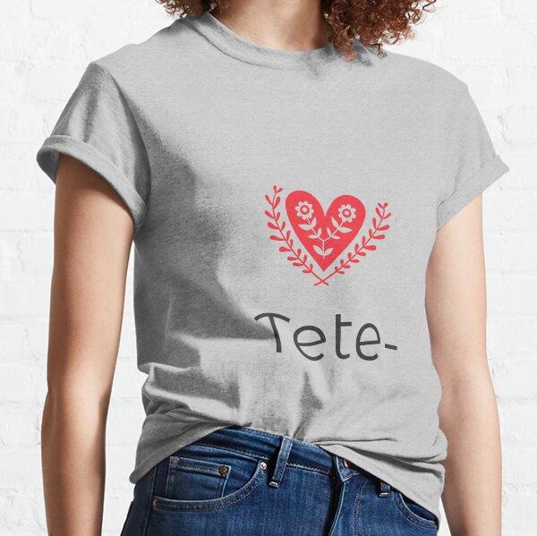 design Tete Classic T-Shirt