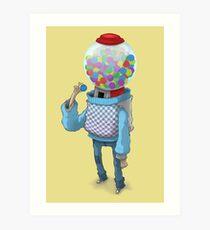 Bubblegum Machine Art Print