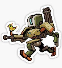 Pixel Bastion Sticker