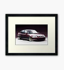 Honda Civic Framed Print