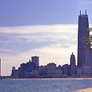 Chicago waterfront in 1968. by johnrf