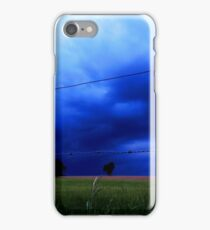 Landscape - stormy day (2016) iPhone Case/Skin
