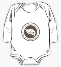 The Society of Palaeontology Fanciers (Brown on White) One Piece - Long Sleeve