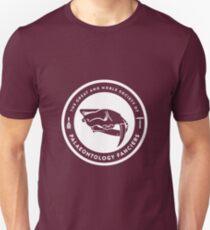 The Society of Palaeontology Fanciers (White on Dark) Unisex T-Shirt