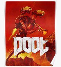 Doot Toot (Doom Shirt) Style #1 Poster