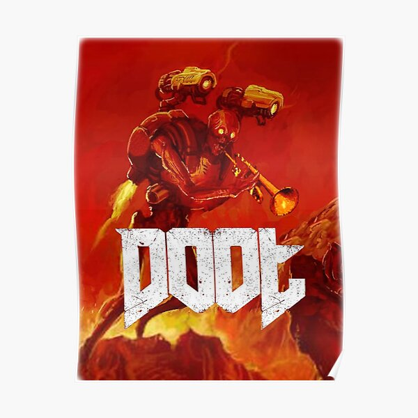 Doot Toot (Doom Shirt) Style # 1 Poster