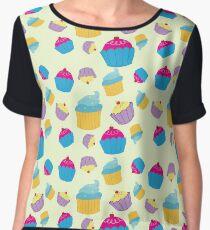 Cupcakes Women's Chiffon Top