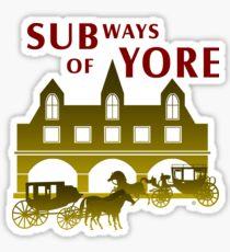 Subways Of The Past Sticker