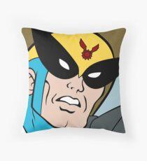 Harvey Birdman Throw Pillow
