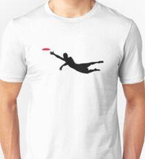 Camiseta ajustada Disco de golf disco volador