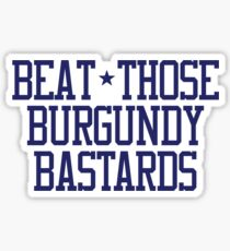 Beat Burgundy Sticker