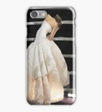 Jennifer Lawrence Oscar Fall iPhone Case/Skin