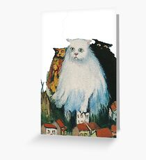 Fat Cats Greeting Card