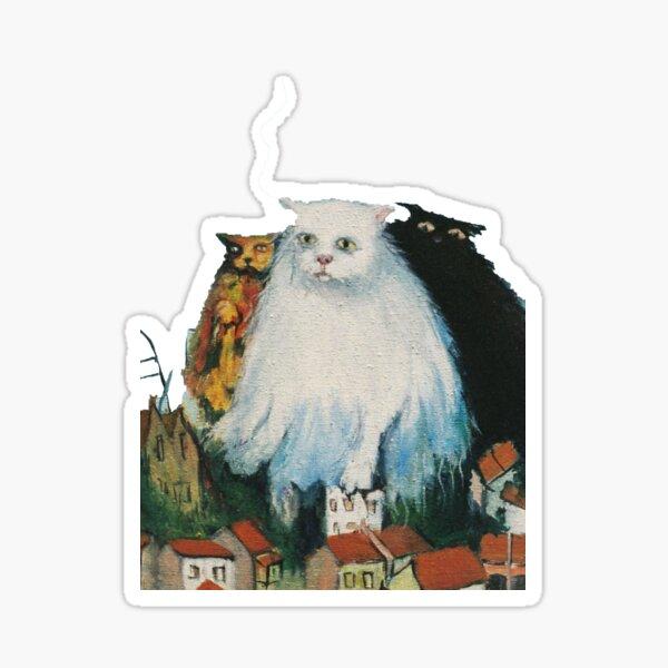 Fat Cats Sticker